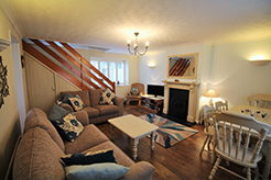April Cottage, Wells, Norfolk. Self-Catering Cottage Living Room