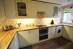 April Cottage, Wells, Norfolk. Self-Catering Cottage Kitchen